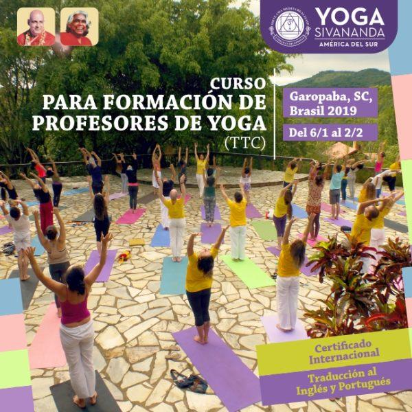 TTC Garopaba 2019 - Curso para formación de profesores