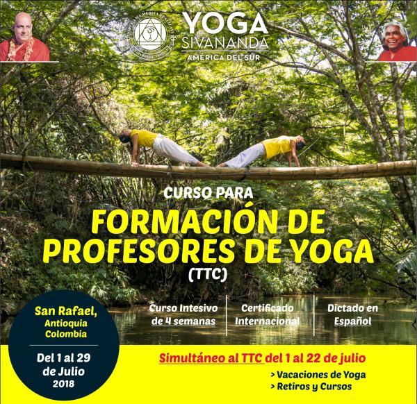Yoga Sivananda - TTC Colombia 2018 - Curso para formación de profesores 2c6cd20979a6